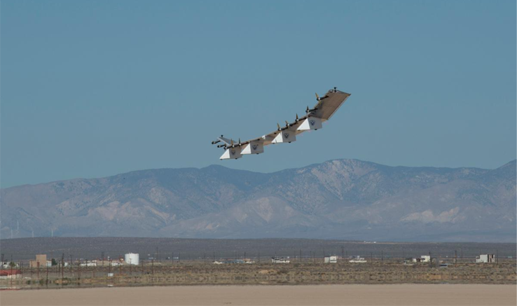HAPSMobile's unmanned aircraft system takes flight at NASA Armstrong Flight Research Center in California