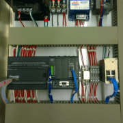 Close Up of Waste Ejector Control Logic Controller