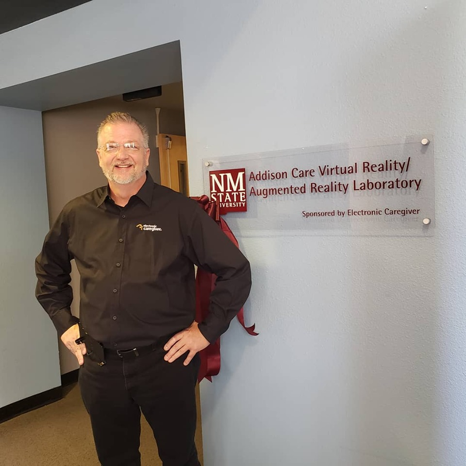 nmsu opens a vr/ar lab donated by electronic caregiver